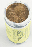 Lot of 3 Sacagawea $25 Bullion Coin Rolls