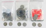 Lot of American Nickels & Quarters