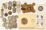 Various American Coins
