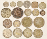 Lot of Foreign Silver Coins