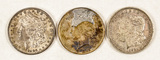 3 American Silver Dollars