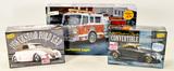 New! Model Kits-'37 Ford, '38 Ford & Fire Pumper