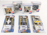 Lot of 7 Die cast Collectable Planes