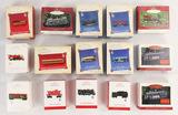 Lot of 15 Hallmark Keepsake Lionel Train Ornaments