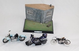 Lot of Various Model Motorcycles