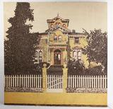 Vtg. Graphilia TextileSupergraphic Victorian House