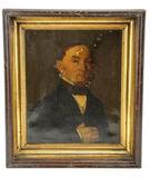 Male Portrait Oil Painting
