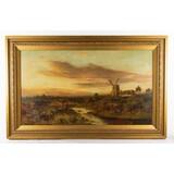 Framed Oil Painting on Canvas-Daniel Sherrin