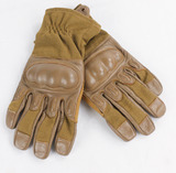 Defcon5 Coyote Tan Leather Combat Gloves