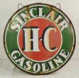 Sinclair Gasoline Sign Double Sided Porcelain 48