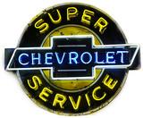 Chevrolet Super Service Neon Sign