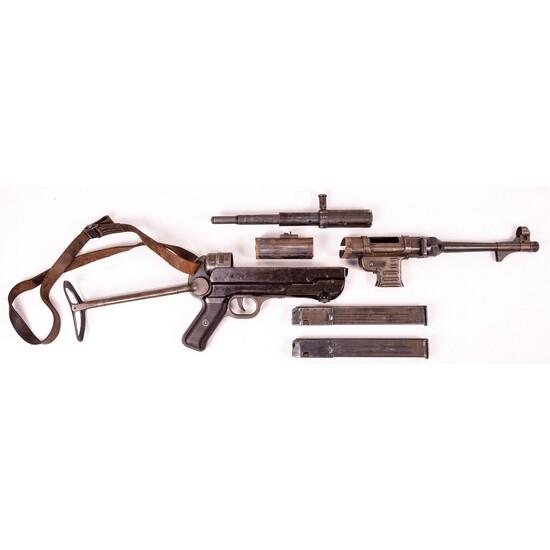 Original WWII German MP40 Parts Kit