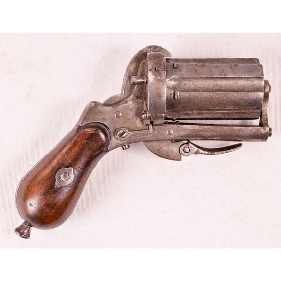 European Pepperbox Pinfire Revolver 7mm (A)