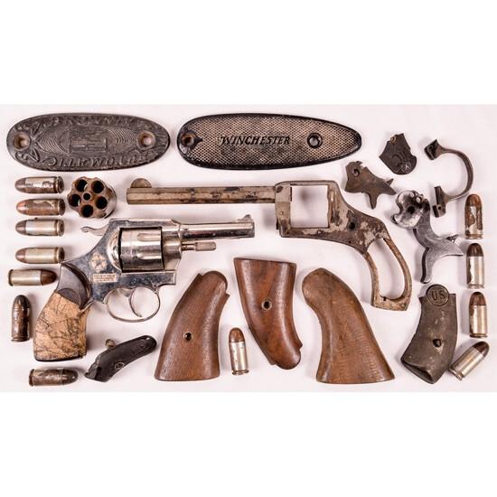 H&R Revolver Parts & Mondial Blank Revolver (M)