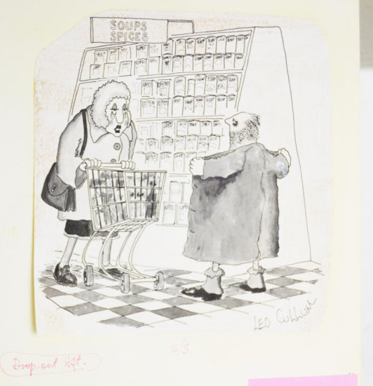 Fling Line 1970s Line Art Cartoon