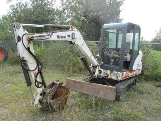 2002 Bobcat 334 Excavator