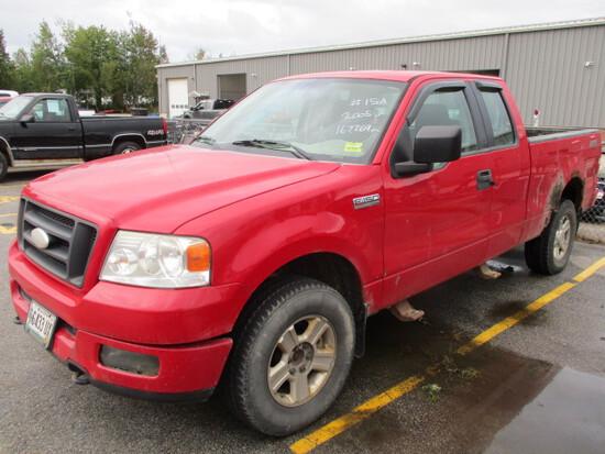 2005 Ford F150 Triton