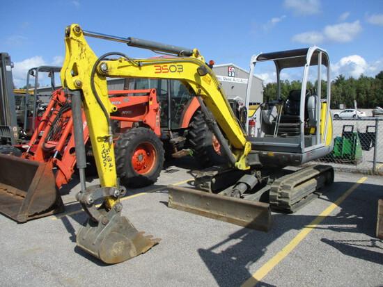 Wacker Neuson 3503 RD Mini Excavator