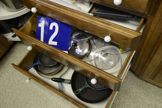 Three Drawers Pots and Pans