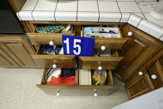 Five Drawers Linen and Hand Tools