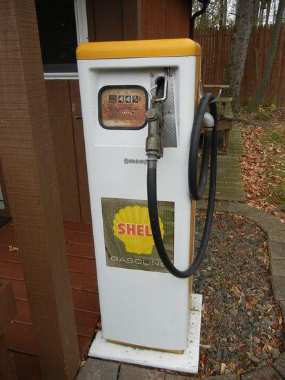 Shell Antique Gas Pump