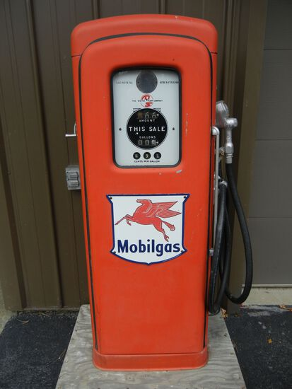Mobilgas Antique Gas Pump