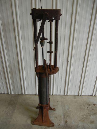 Antique Hand Gas Pump