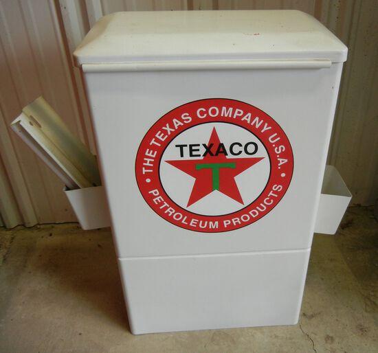 Texaco Towel Box