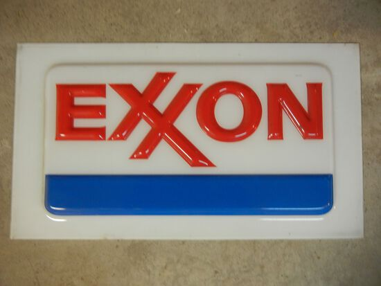 Exxon Molded Sign