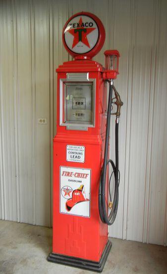 Texaco Fire Chief Antique Gas Pump