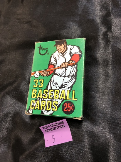 1971 Topps baseball card cello pack