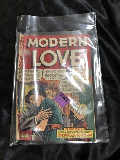 Golden age modern love comic