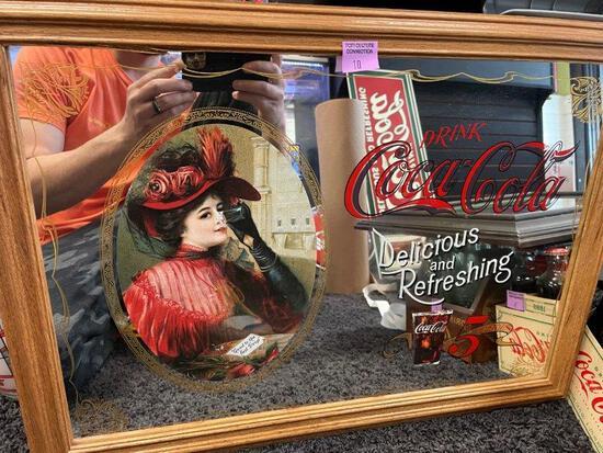 Vintage Coca Cola Wall Mirror