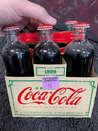 Limited Edition Coca Cola 1899 Bottles