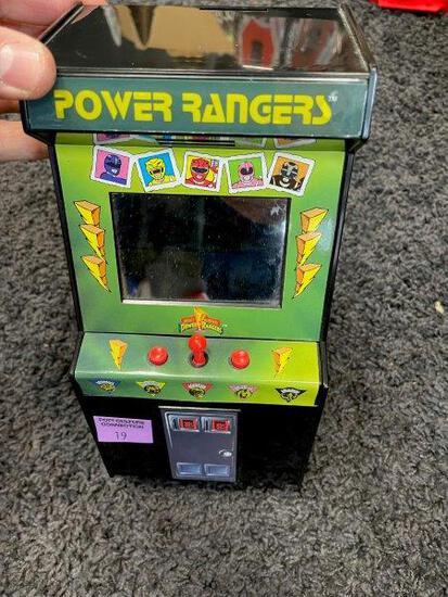 Original Power Rangers Arcade Coin Bank