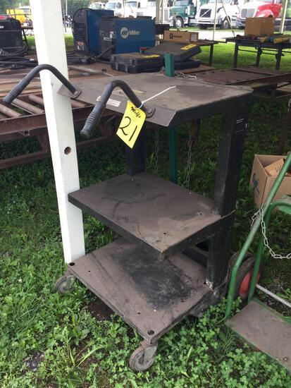 Torch Cart W/Racks