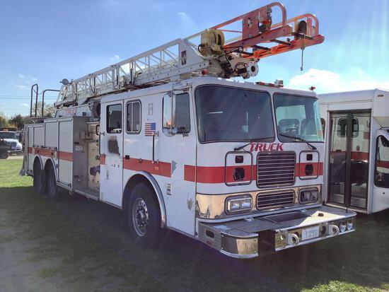 2002 Seagrave Ladder Truck