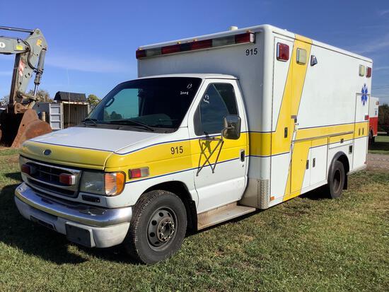 2001 Ford E450 Ambulance