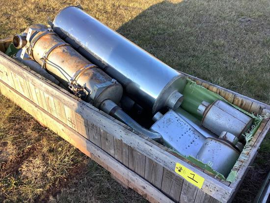 Box of Exhaust Parts