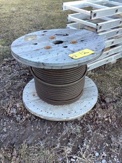"""Roll of 5/8"""" Wire Rope"""