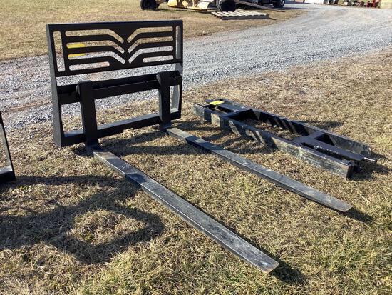 4000 lbs Back 6' Forks