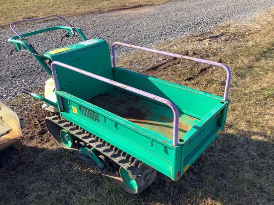 Tracked Motorized Cart- Walkbehind