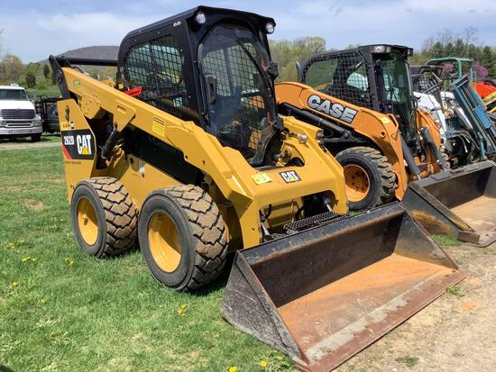 Cat 262 D Skid Loader