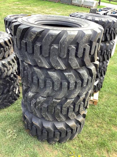 Set of 4--- 14-17.5 Tires