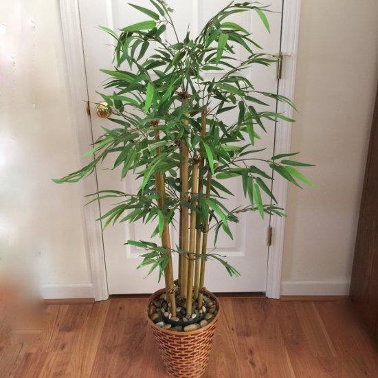 4' Artificial Bamboo Tree