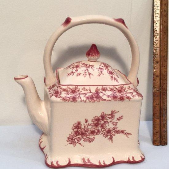 Ceramic Floral Teapot