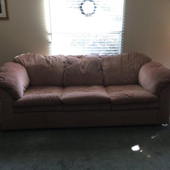 Light Mauve Couch