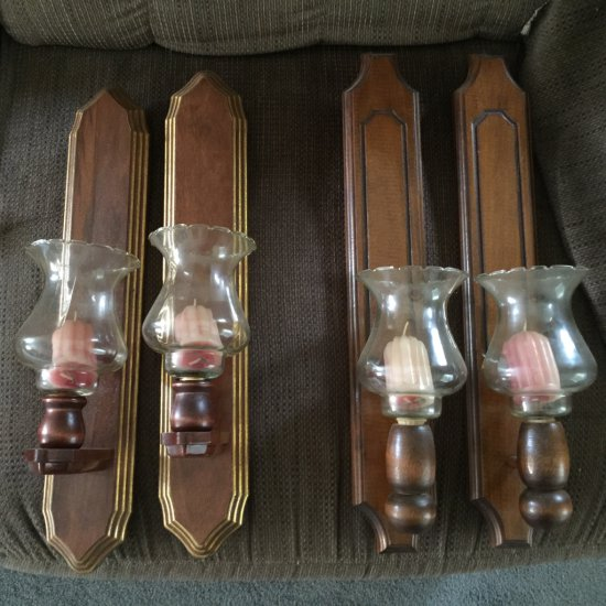 Four Candle Wall Sconces