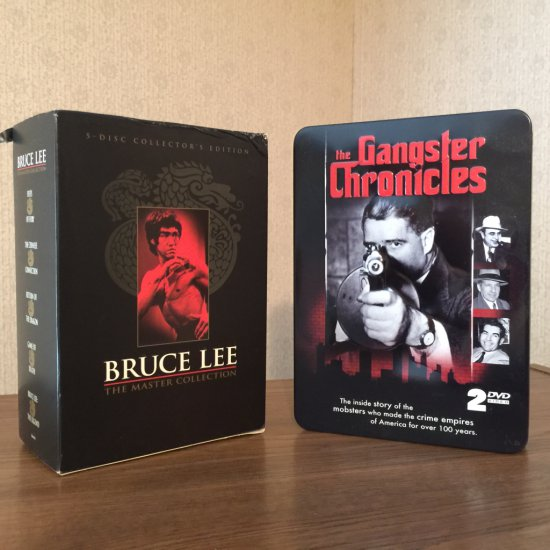 Bruce Lee 5 Disc DVD Collection