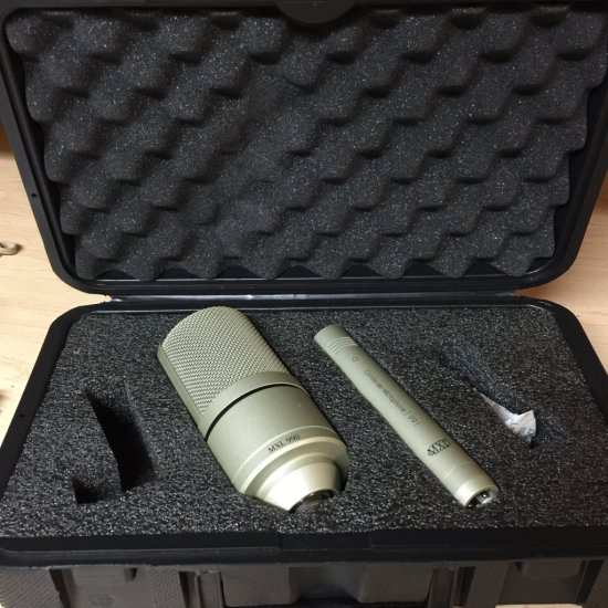 MXL 990 & 991 Condenser Microphone with Case